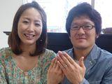 世界に一つの結婚指輪♡