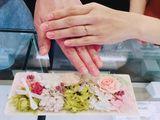 自分の好きなお花モチーフの指輪でとっても可愛いくて満足しています♪