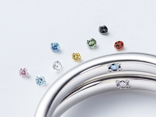 【オリジナルサービス】ふたりだけの想いを密かに刻む「プロミスダイヤモンド」