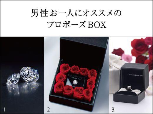 最愛の人へダイヤモンドを贈る『EXELCO ローズボックス』