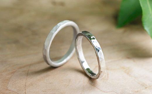 【挙式用の指輪をプレゼント】結婚式が間近に迫っているお客様へ