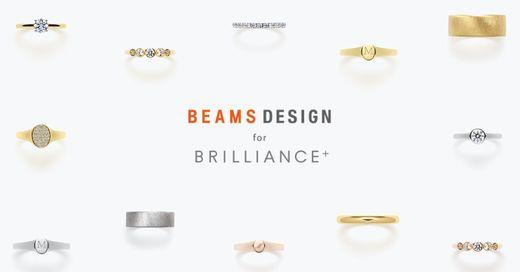 【第2弾発売】BEAMS DESIGNプロデュースのブライダルリングがBRILLIANCE+から発売!【10/7(月)~】