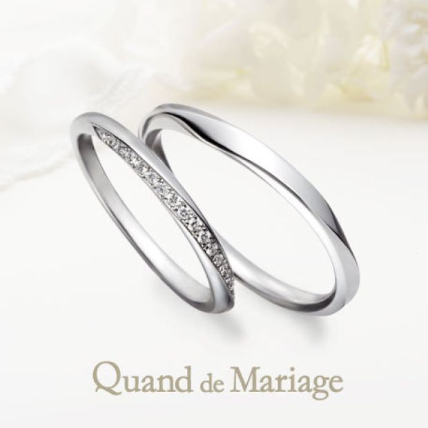 【Mariage ent(マリアージュエント)】ジョワイユ【Joyeux:喜び】メレダイヤアレンジ