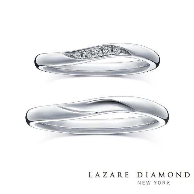 【ラザール ダイヤモンド(LAZARE DIAMOND)】【クリーク】たゆみなく流れる小川のように清く美しい未来を描く。