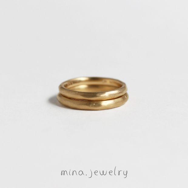 【mina.jewelry(ミナジュエリー)】アンティークなマリッジリング