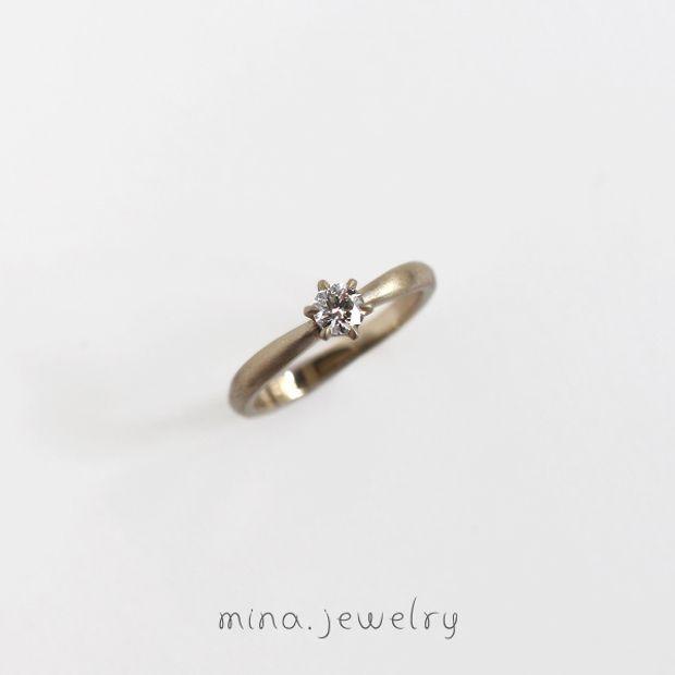 【mina.jewelry(ミナジュエリー)】ずっと愛せるエンゲージリング