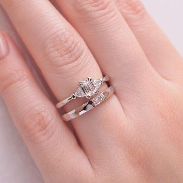 【ORECCHIO(オレッキオ)】【新作】<aman~アマン>結婚指輪 AM-2315/AM-2316