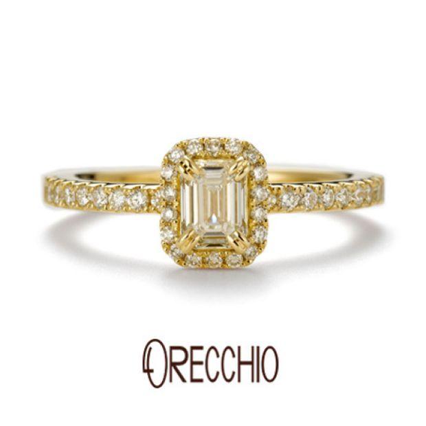 【ORECCHIO(オレッキオ)】<siena~シエナ>婚約指輪 SE-1112