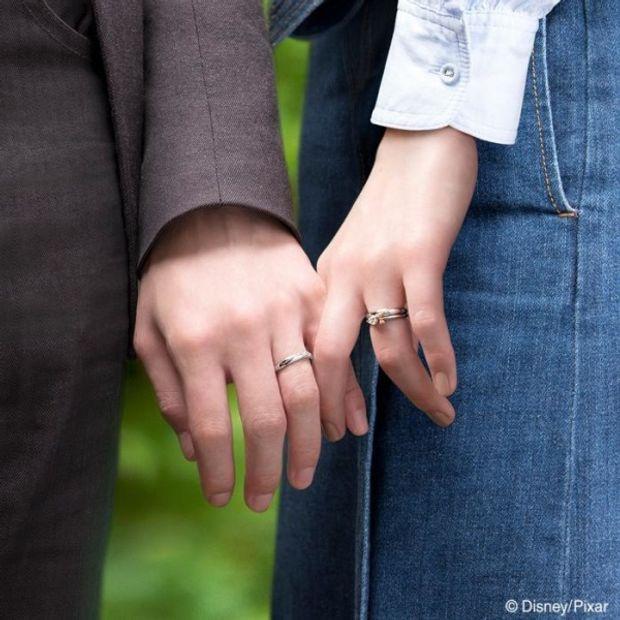 【ケイウノ ブライダル(K.UNO BRIDAL)】Lovely Knot~『トイ・ストーリー4』/マリッジリング~