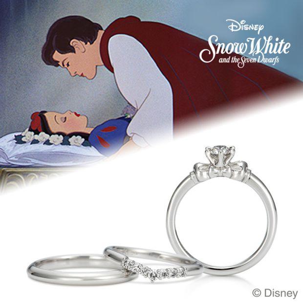 4292c9a961 Disney / 白雪姫 [結婚指輪] ケイウノ ブライダル(K.UNO BRIDAL ...