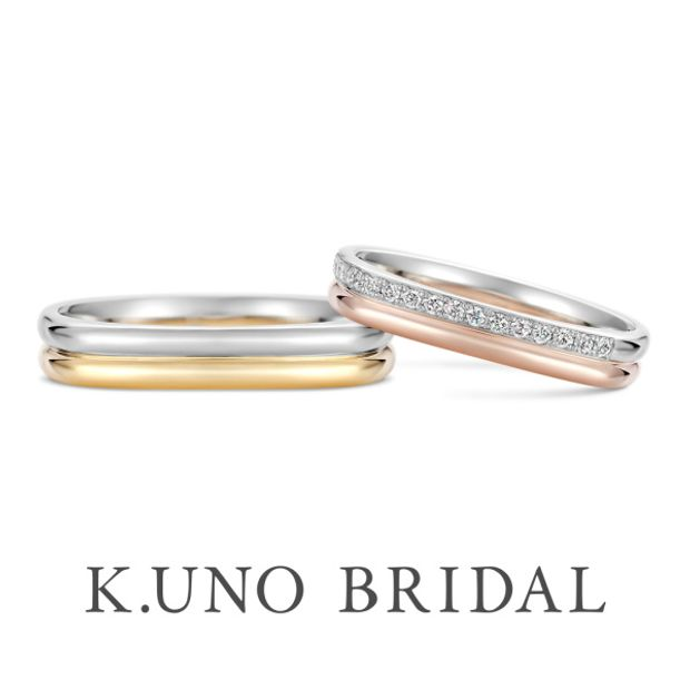 【ケイウノ ブライダル(K.UNO BRIDAL)】Quattro‐クワトロ‐