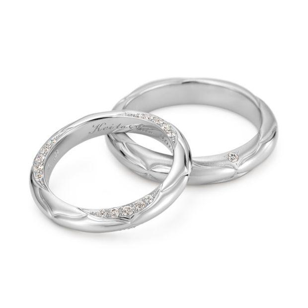 【ケイウノ ブライダル(K.UNO BRIDAL)】オーダーメイド結婚指輪