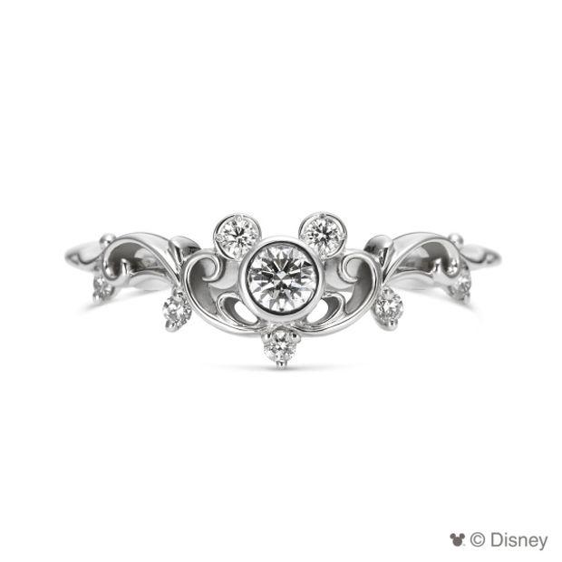 a3e6d6dd2c Disney / Happy Tiara [婚約指輪] ケイウノ ブライダル(K.UNO BRIDAL ...