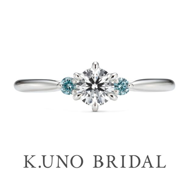 【ケイウノ ブライダル(K.UNO BRIDAL)】Blu puro -ブループーロ-
