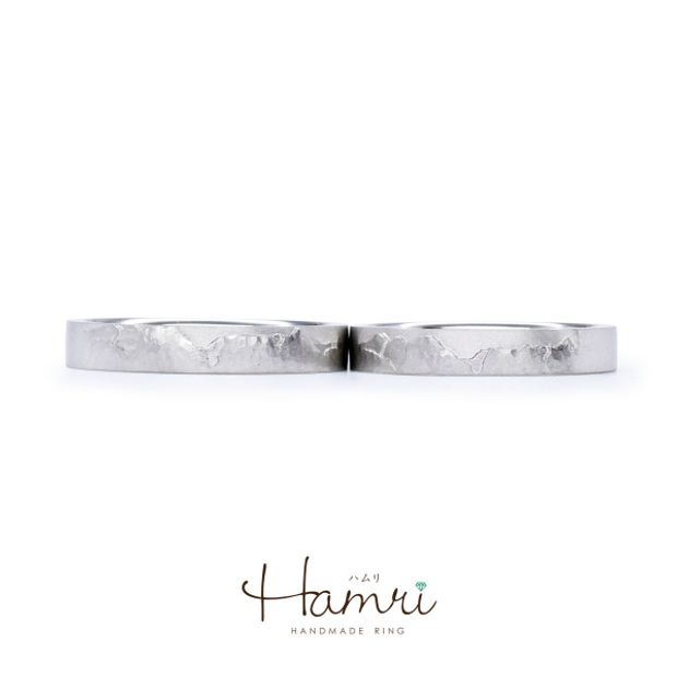 【Hamri(ハムリ)】山のマリッジリング
