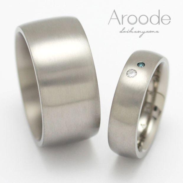 【Aroode(アローデ)】フルオーダーメイドマリッジリング No22