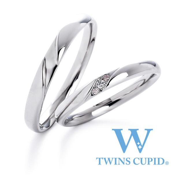 【アネリディギンザ(ANELLI DI GINZA)】TwinsCupid/Blooming ブルーミング/結婚指輪【アネリディギンザ/ANELLI DI GINZA】