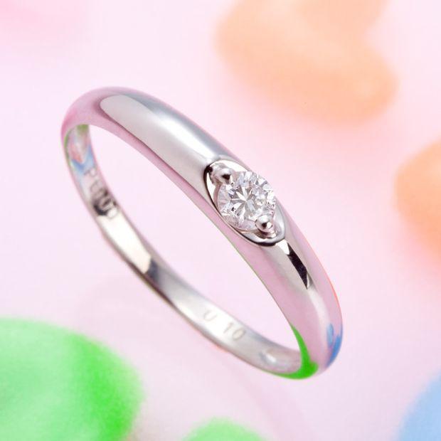 【アネリディギンザ(ANELLI DI GINZA)】即納可 PERA 婚約指輪/Pt900ダイヤモンドリング/【アネリディギンザ/ANELLI DI GINZA】