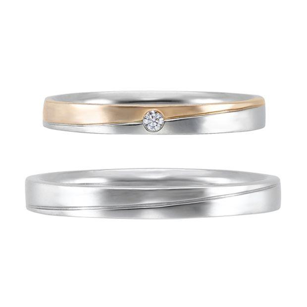 【アネリディギンザ(ANELLI DI GINZA)】いい夫婦ciel étoilé/aurore オーロール/婚約指輪&結婚指輪【アネリディギンザ/ANELLI DI GINZA】