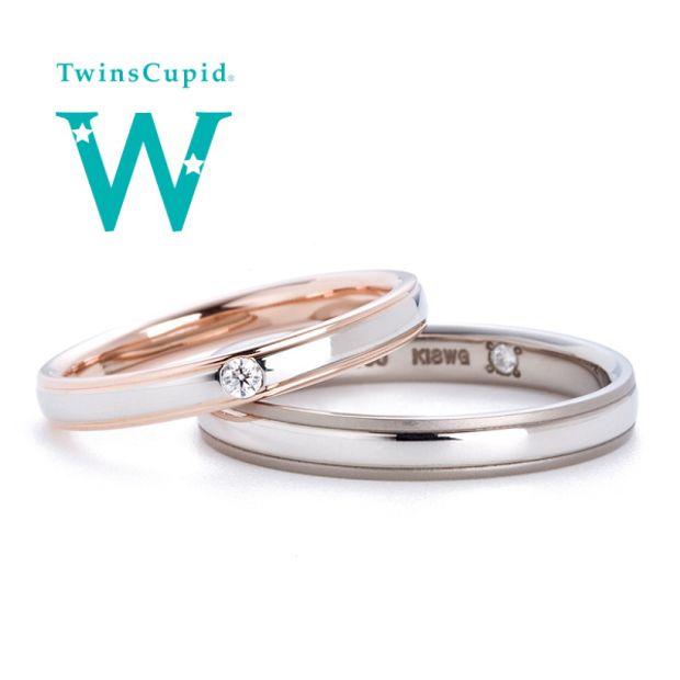 【アネリディギンザ(ANELLI DI GINZA)】TwinsCupid/Virgin Road ヴァージンロード/結婚指輪【アネリディギンザ/ANELLI DI GINZA】