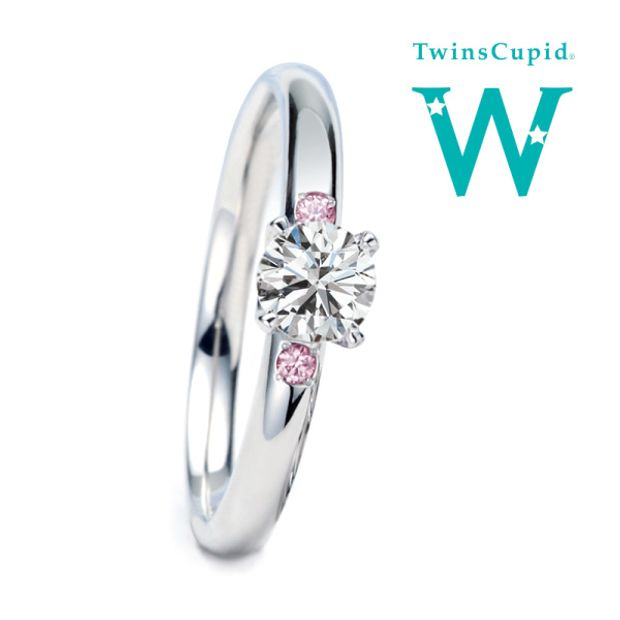 【アネリディギンザ(ANELLI DI GINZA)】TwinsCupid/Milky Way ミルキーウェイ/婚約指輪&結婚指輪【アネリディギンザ/ANELLI DI GINZA】