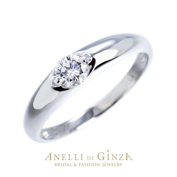 【アネリディギンザ(ANELLI DI GINZA)】即納可 MELONE 婚約指輪/Pt900ダイヤモンドリング/【アネリディギンザ/ANELLI DI GINZA】