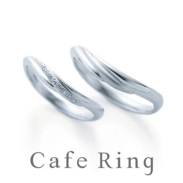【山城時計店(やましろとけいてん)】【オリヴィエ】波打つようなやさしいラインの結婚指輪