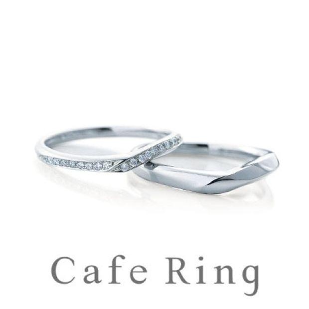 【山城時計店(やましろとけいてん)】【 デューン】美しいVラインの結婚指輪