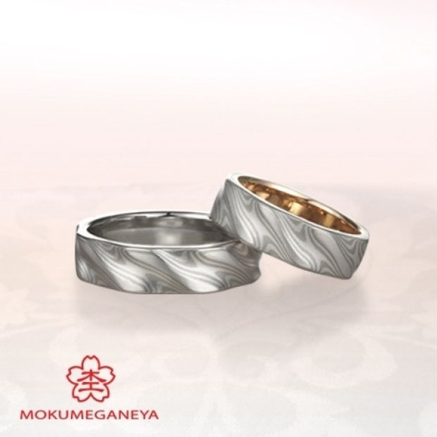 【BIJOUPIKO(ビジュピコ)】【杢目金屋】ふたりのこだわりを詰め込んだ結婚指輪