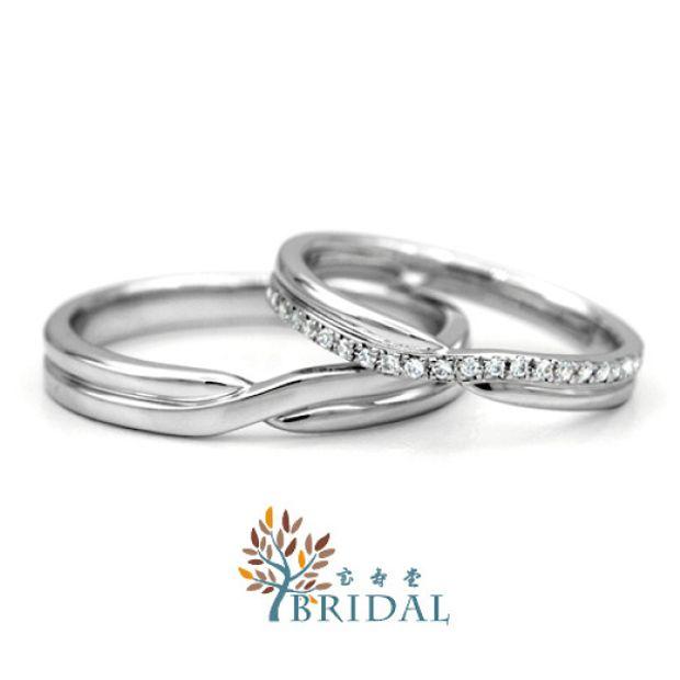 【宝寿堂(ほうじゅどう)】結婚指輪(マリッジリング) | HM02833L / HD02833S