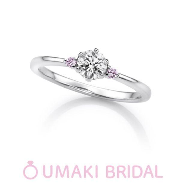 【EYE JEWELRY UMAKI(アイジュエリー ウマキ)】KN4《ピンクダイヤモンド》