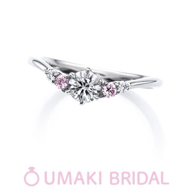 【EYE JEWELRY UMAKI(アイジュエリー ウマキ)】O5 《ピンクダイヤモンド》