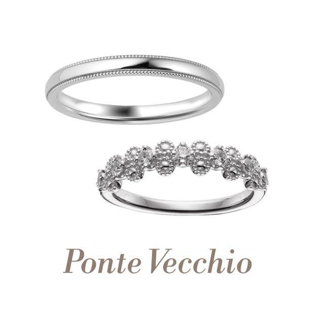【Ponte Vecchio(ポンテヴェキオ)】【ブライダル専門店限定】FIORATO(フィオラート)~花かんむり~