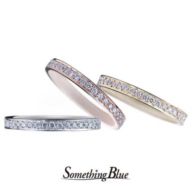 【Something Blue(サムシングブルー)】サムシングブルー エタニティリング [SBM-100,SBM-104,SBM-105]