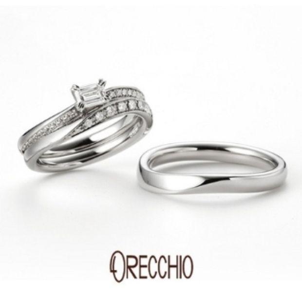 【garden(ガーデン)】イランイラン~お揃いの結婚指輪との重ね着けで指先を美しく演出してくれる婚約指輪