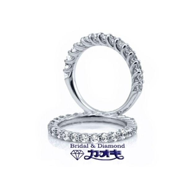 【カオキ ダイヤモンド専門卸直営店】ダイヤの輝きが違う!人気のエタニティー【メテオリク(上)・ノーヴァ(下)】