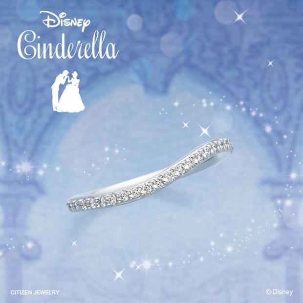 【RAFFINE HIRATA(ラフィーネヒラタ)】Disneyシンデレラ エバーアフター【エタニティリングコレクション】