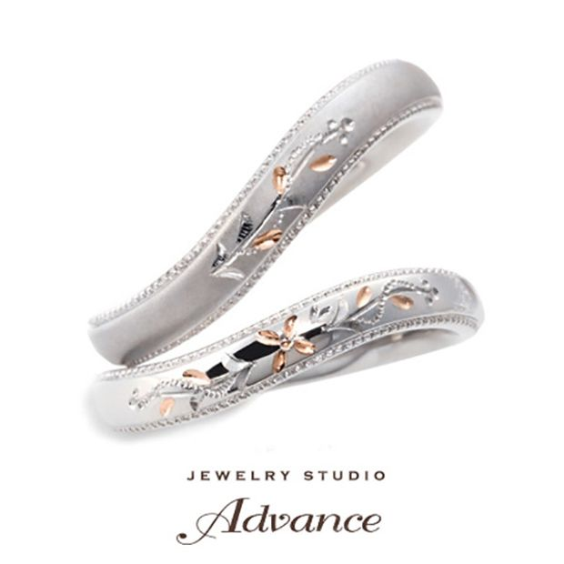 【JEWELRY STUDIO Advance(ジュエリースタジオアドバンス)】【Advance】Orange Blossom(オレンジブロッサム)