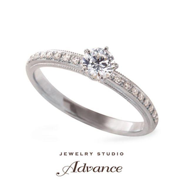 【JEWELRY STUDIO Advance(ジュエリースタジオアドバンス)】【Advance】Tulle(チュール)『優しい雰囲気のアンティークデザイン』