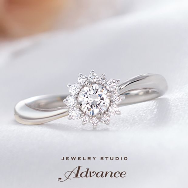 【JEWELRY STUDIO Advance(ジュエリースタジオアドバンス)】【Advance】Reve(レーヴ)『花嫁の憧れリング』