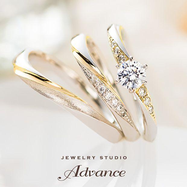 【JEWELRY STUDIO Advance(ジュエリースタジオアドバンス)】【Advance】Chandelier(シャンデリア)『装飾的で華やかなリング』