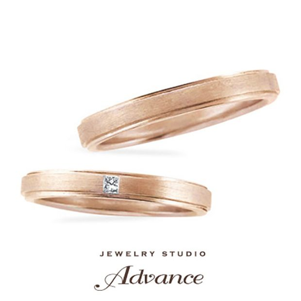 【JEWELRY STUDIO Advance(ジュエリースタジオアドバンス)】【Advance】Ginger(ジンジャー)『凛としたスタイリッシュリング』