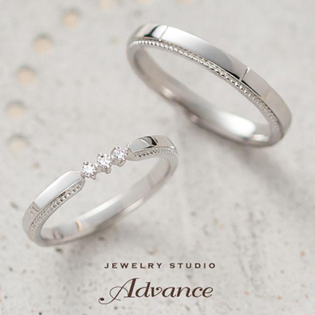 【JEWELRY STUDIO Advance(ジュエリースタジオアドバンス)】【Advance】 Etoile(エトワール)『薬指にきらめく星』