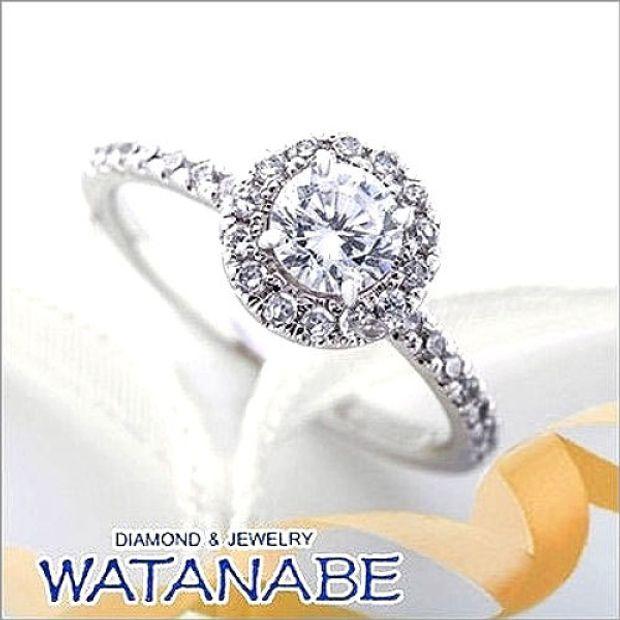 【WATANABE / 卸商社直営 渡辺】[WATANABE]指元でまるでお花が咲きほこる様なキュートなリング