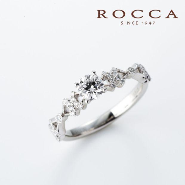 【ROCCA(ロッカ)】【ROCCA】重ね付けにも抜群!可愛らしいリボンのデザインのエンゲージリング