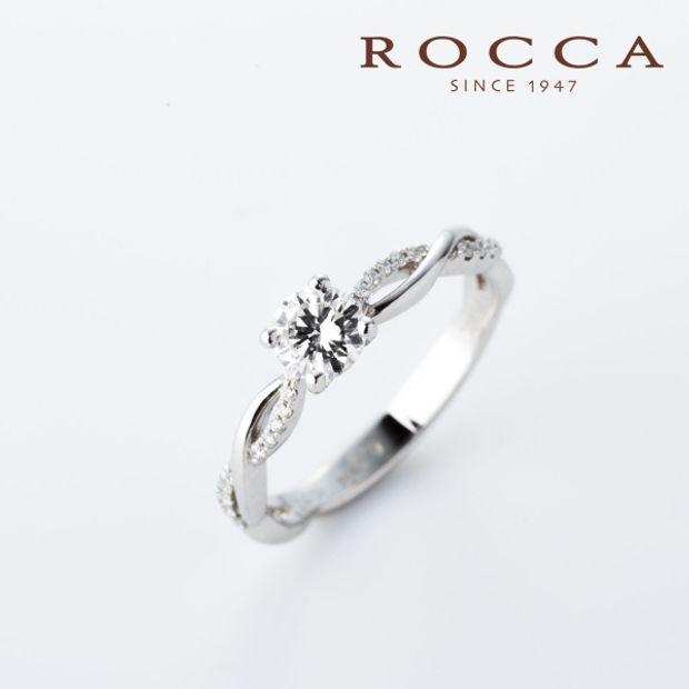 【ROCCA(ロッカ)】【ROCCA】重ね付けにもぴったり!シンプルエンゲージリング