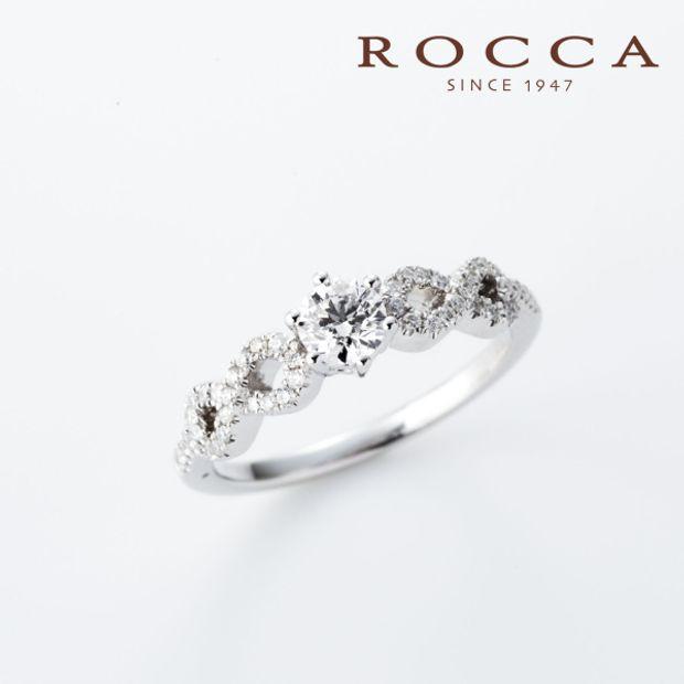 【ROCCA(ロッカ)】【ROCCA】スタイリッシュなデザイン!クールなエンゲージリング