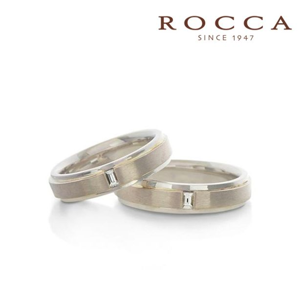 【ROCCA(ロッカ)】【ROCCA】シンプルで仕事中も着けやすい!着け心地抜群の幅広マリッジリング