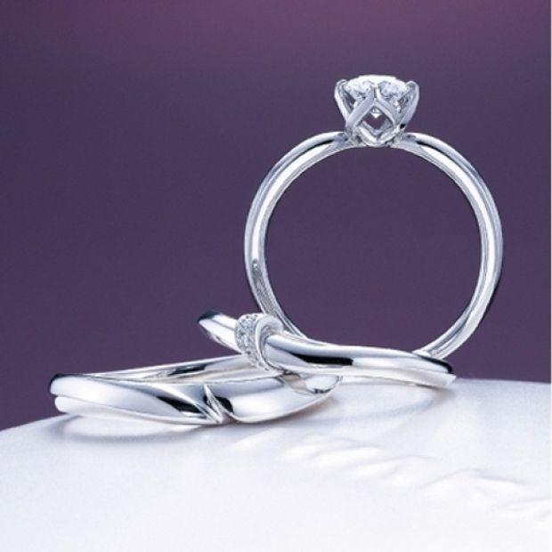 【yamatoya(ヤマトヤ)】「結」(ゆい)婚約指輪 ~この想い ほどけぬように~