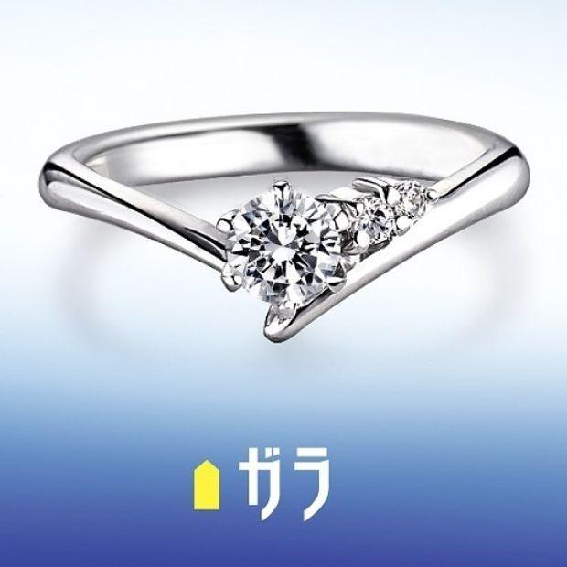 【ガラOKACHIMACHI】【ガラ】 エンゲージリング ~Cute~